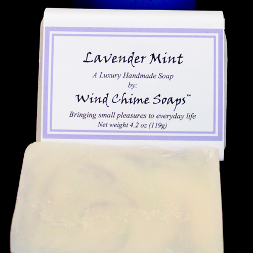 lavendar mint aloe soap